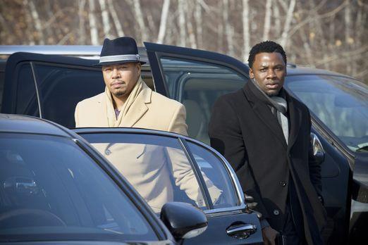 Empire - Es kommt zum Showdown zwischen Lucious Lyon (Terrence Howard, l.) un...