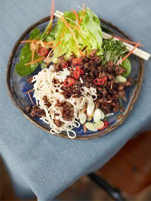 Jamies Super Food: Knuspriges Rindfleisch Asia Style - Rezeptbild