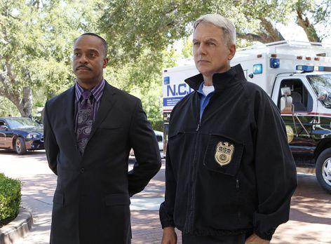 Navy CIS - Ermitteln in einem neuen Fall: Vance (Rocky Carroll, l.) und Gibbs...