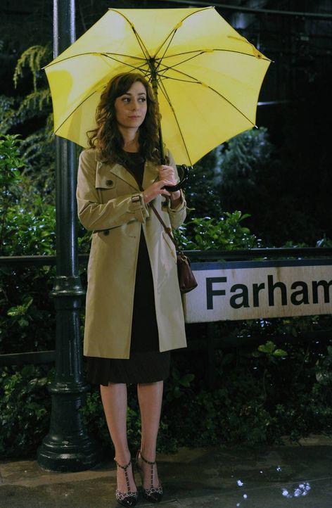 Tracys (Cristin Milioti) Schicksal ändert sich schlagartig, als sie Ted am Bahnsteig sieht ... - Bildquelle: 2014 Twentieth Century Fox Film Corporation. All rights reserved.