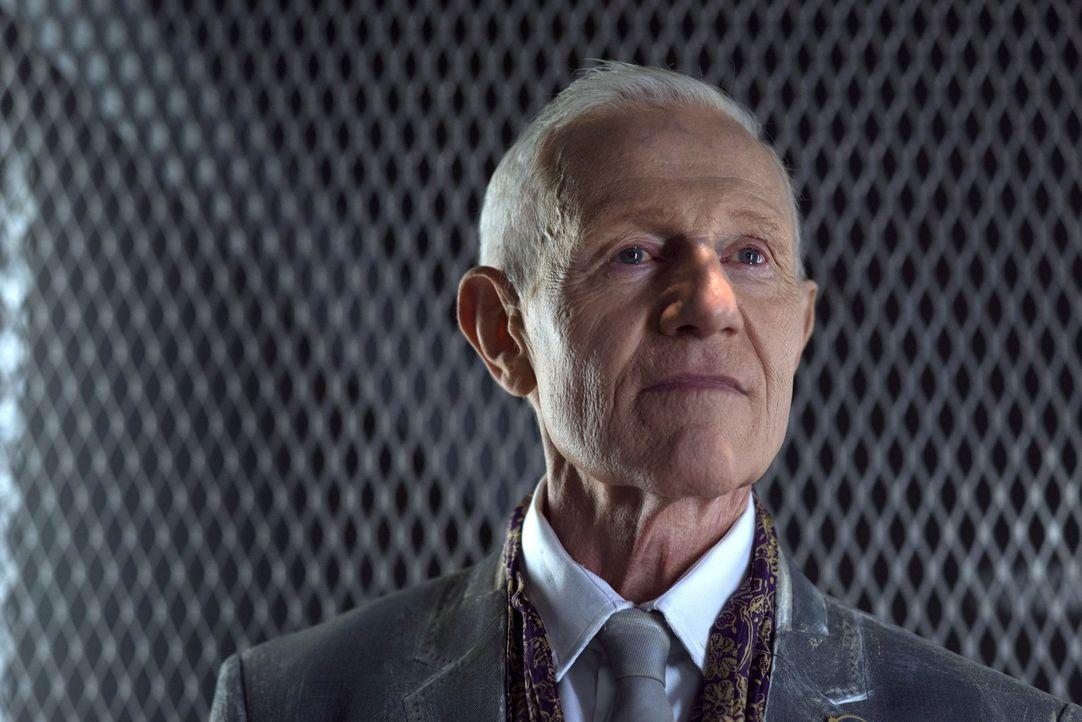 Ist Präsident Dante Wallace (Raymond J. Barry) wirklich ein so guter Mensch, wie er vorgibt? - Bildquelle: 2014 Warner Brothers