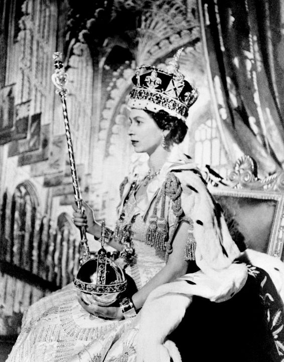 Queen-ElizabethII-1953-06-02-AFP - Bildquelle: AFP