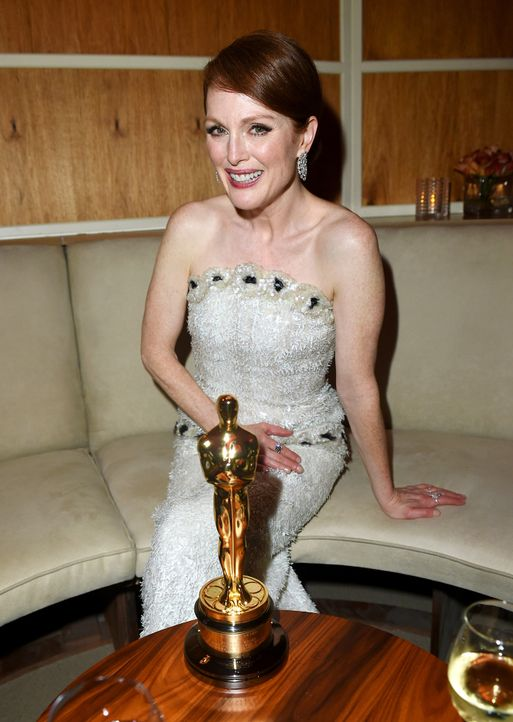 Oscars-Vanity-Fair-Party-Julianne-Moore-150222-getty-AFP - Bildquelle: getty-AFP