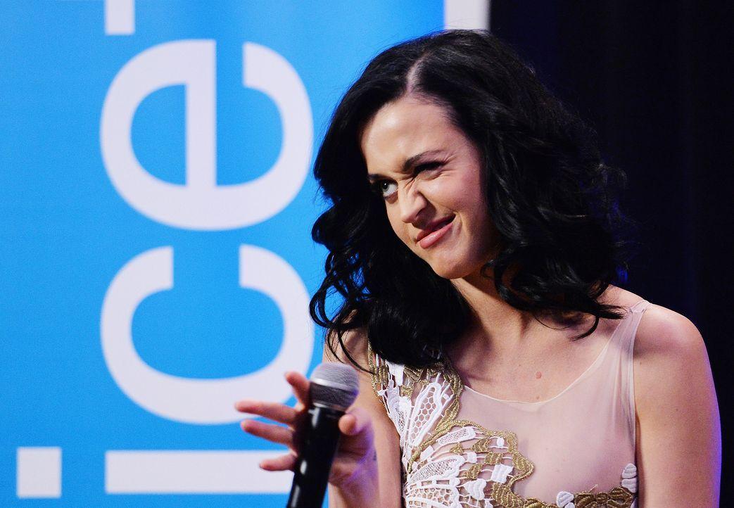 Katy Perry kneift nicht - Bildquelle: AFP