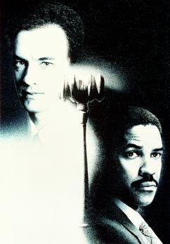 Philadelphia - Andrew Beckett (Tom Hanks, l.) bittet den Anwalt Joe Miller (D...