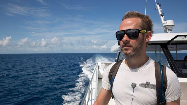 Auf seiner ersten Unterwassermission erkundet Dominic Monaghan das Great Barr...
