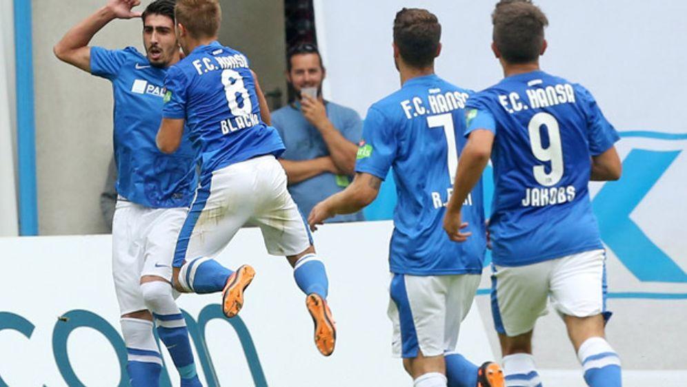 Hansa Rostock möchte 2014 / 2015 wieder jubeln in der Dritten Liga - Bildquelle: Getty