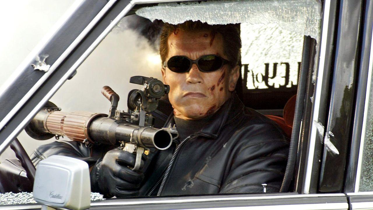 """Arnold Schwarzenegger in """"Terminator 3"""" - Bildquelle: dpa"""