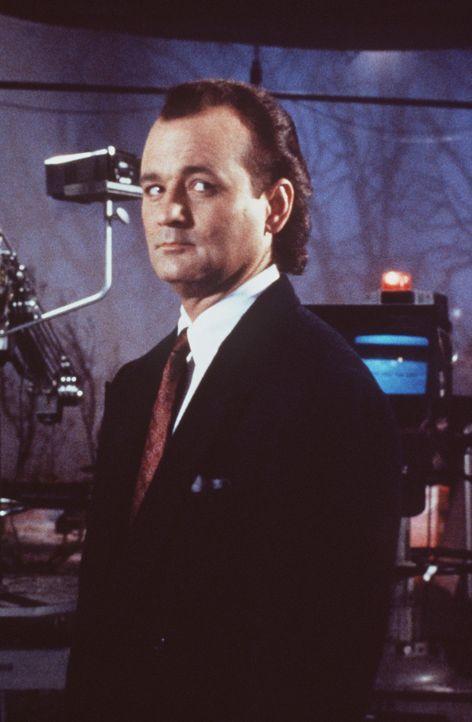 Der erfolgsbesessene, zynische Fernsehboss Frank Cross (Bill Murray) will aus dem Weihnachtsmärchen von Charles Dickens ein blutrünstiges Action-S... - Bildquelle: Paramount Pictures