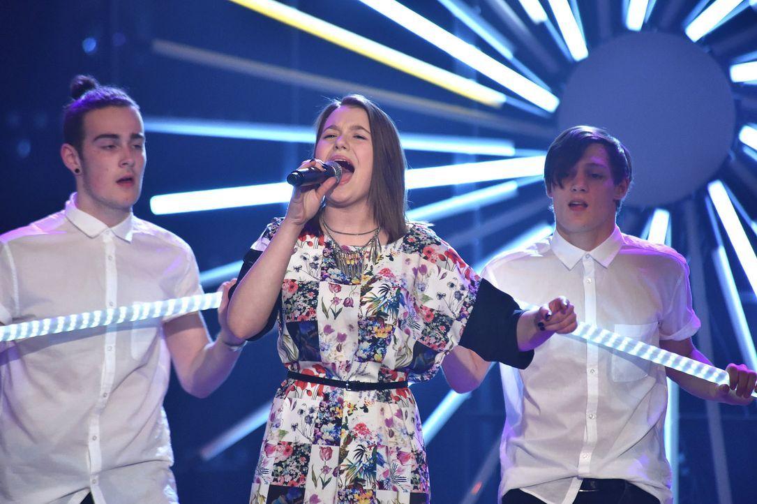 The-Voice-Kids-Stf03-Finale-Probe-28-Antonia-SAT1-Andre-Kowalski - Bildquelle: SAT.1/ Andre Kowalski