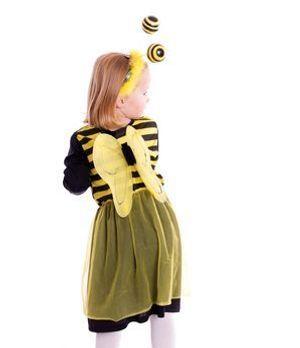 Ein wichtiges Detail darf beim Biene Maja-Faschingskostüm nicht fehlen: die F...