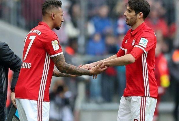 Fehlen mit kleinen Problemen: Boateng (l.) und Martínez