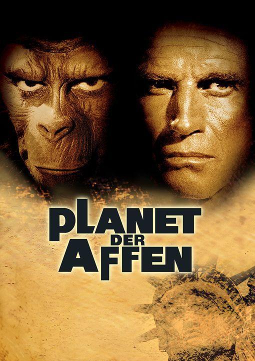 Planet der Affen - Artwork - Bildquelle: 1967 Twentieth Century Fox Film Corporation and Apjac Productions, Inc.  Renewed 1995 Twentieth Century Fox Film Corporation.  All rights reserved.