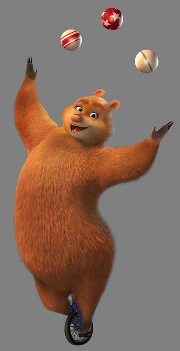Die geschickte Grizzliedame Ursa verdreht dem wilden Boog ganz schön den Kopf. Wegen ihr geht Boog sogar zum Zirkus ... - Bildquelle: 2010 Sony Pictures Animation Inc. All Rights Reserved.