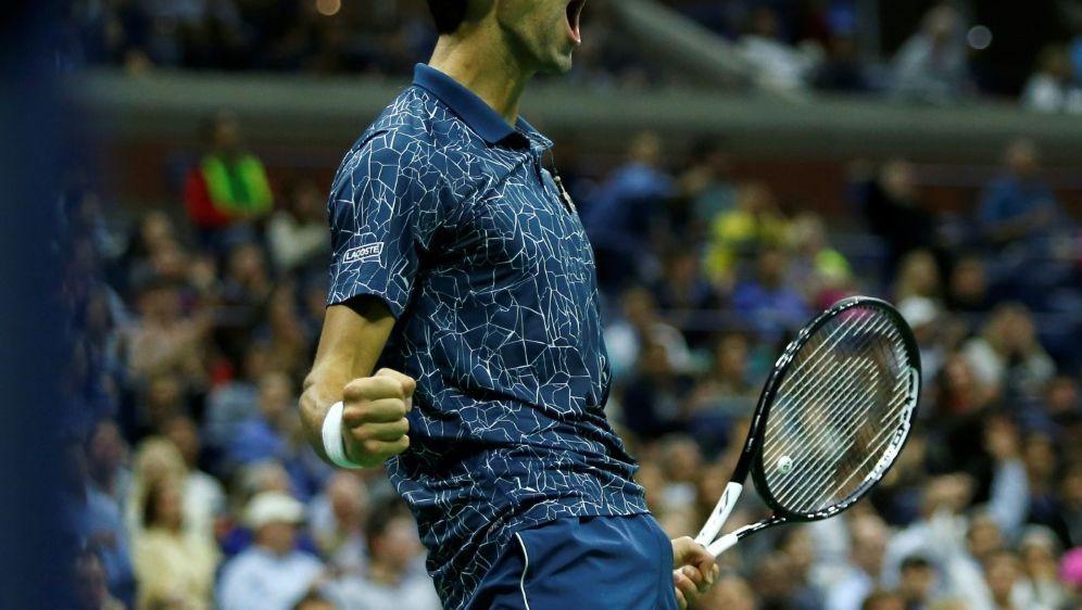 Novak Djokovic gewinnt die US Open - Bildquelle: AFPSIDEduardo MUNOZ ALVAREZ
