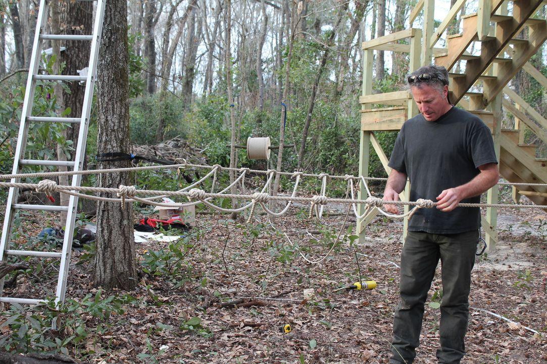 """Für James """"B'fer"""" Roth (Foto) und seine Treehouse Guys ist kein Baum zu hoch und kein Projekt zu kompliziert ... - Bildquelle: 2015, DIY Network/Scripps Networks, LLC. All Rights Reserved."""