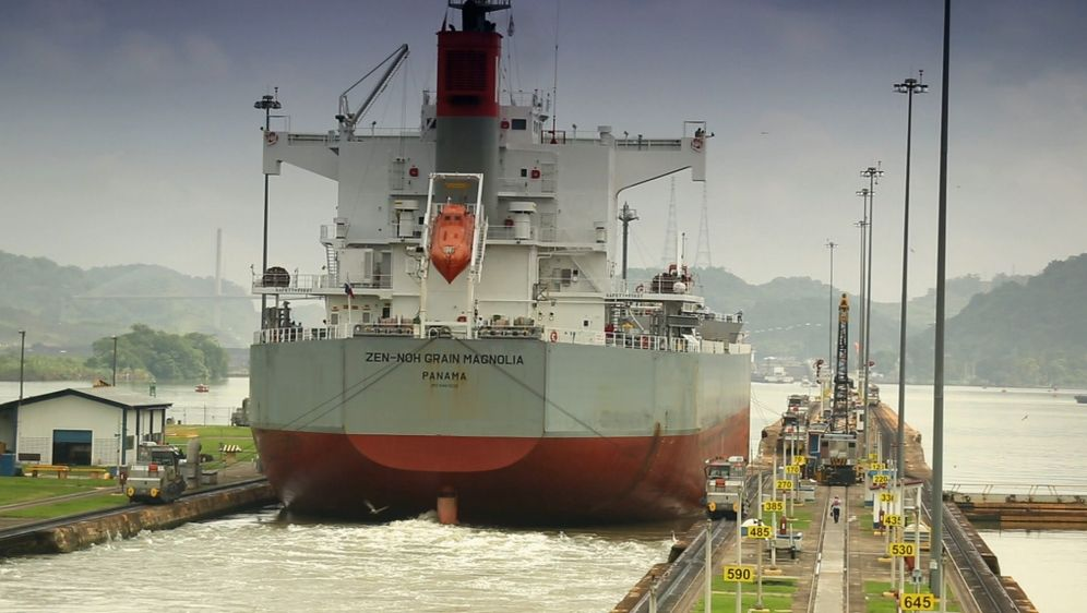History meets now - Panamakanal