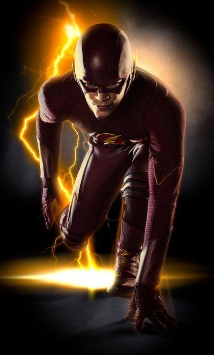 (1. Staffel) - Bewahrt die Welt vor Bösewichten: The Flash (Grant Gustin) ... - Bildquelle: Warner Brothers.