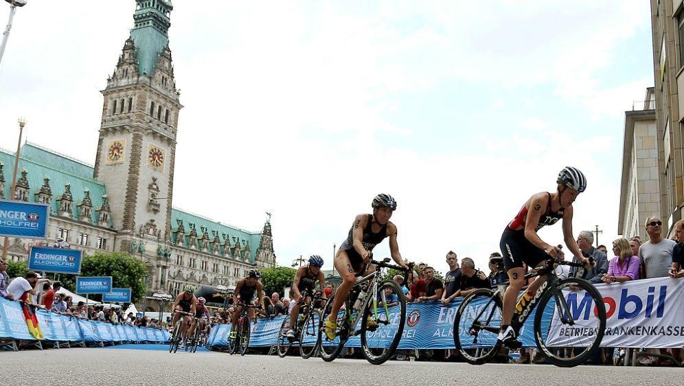 Zahlreiche Top-Athleten bestreiten den Hamburg-Triathlon - Bildquelle: PIXATHLONPIXATHLONSID