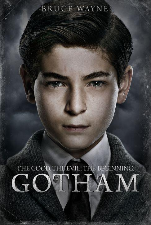 (1. Staffel) - Will seine Eltern rächen, die auf offener Straße ermordet wurden: Bruce Wayne (David Mazouz) ... - Bildquelle: Warner Bros. Entertainment, Inc.