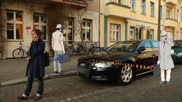 Gefährliche Sekunde Autodiebstahl