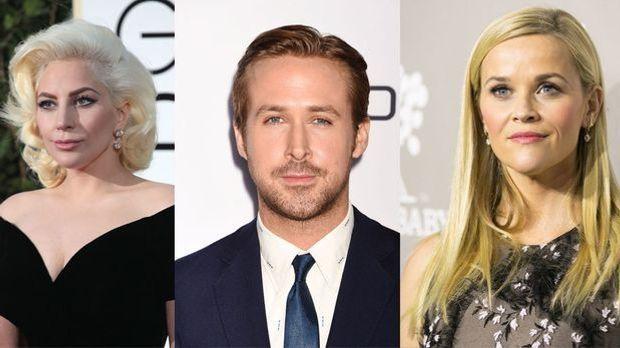 """Am 28. Februar werden die """"Academy Awards"""" 2016 vergeben. Diese Sta..."""