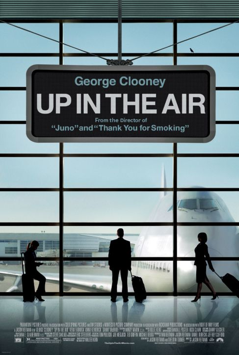 UP IN THE AIR - Plakatmotiv - Bildquelle: TM and   2009 by DW Studios LLC. All rights reserved.