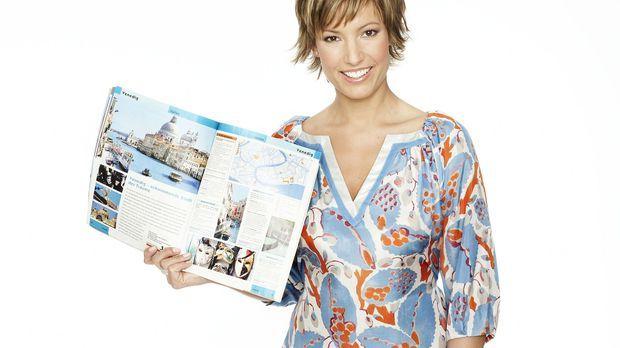 Kim Heinzelmann präsentiert das 'K1 Magazin'. © kabel eins