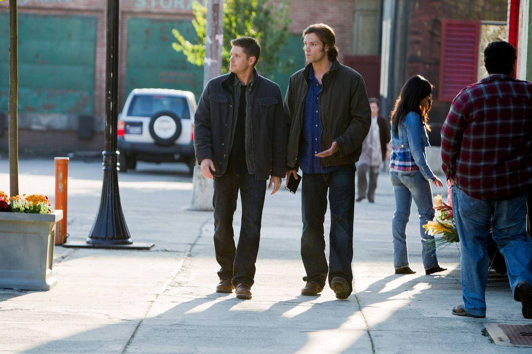 Die Jagd nach dem Bösen geht weiter: Sam (Jared Padalecki, r.) und Dean Winchester (Jensen Ackles, l.) ... - Bildquelle: Warner Bros. Television
