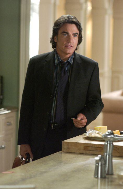 Nachdem Sandy (Peter Gallagher) einen Abschiedsbrief von Rebecca vorgefunden hat, ist er sauer und macht Kirsten dafür verantwortlich ... - Bildquelle: Warner Bros. Television