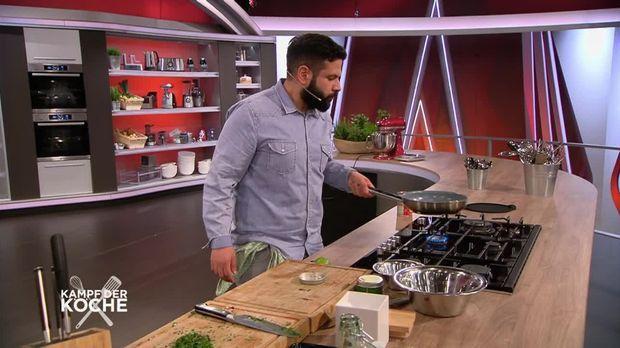 kampf der k che wer haut den profi in die pfanne video meine kulinarischen wurzeln sind. Black Bedroom Furniture Sets. Home Design Ideas