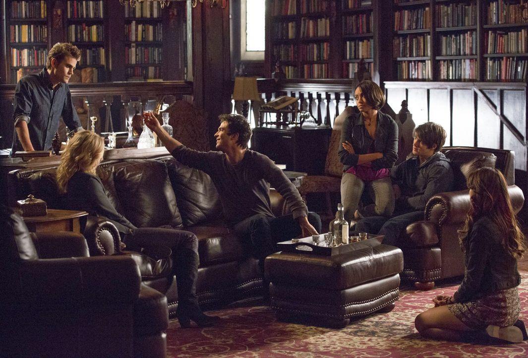Toast auf Katherine - Bildquelle: Warner Bros. Entertainment Inc.