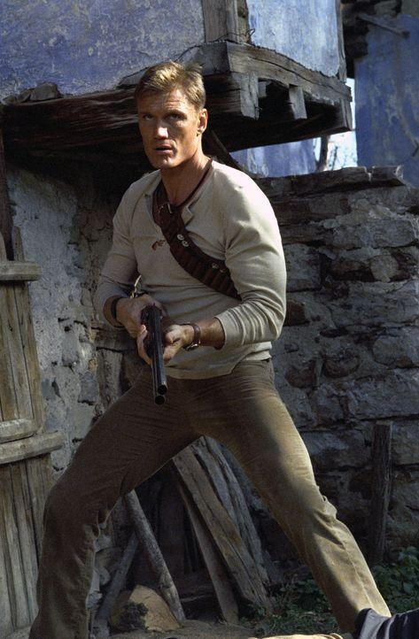 Früher kämpfte Nick Cherenko (Dolph Lundgren) für russische Spezialeinheiten. Als er sich gerade heimisch niederlassen wollte, wird seine Familie... - Bildquelle: Nu Image Films