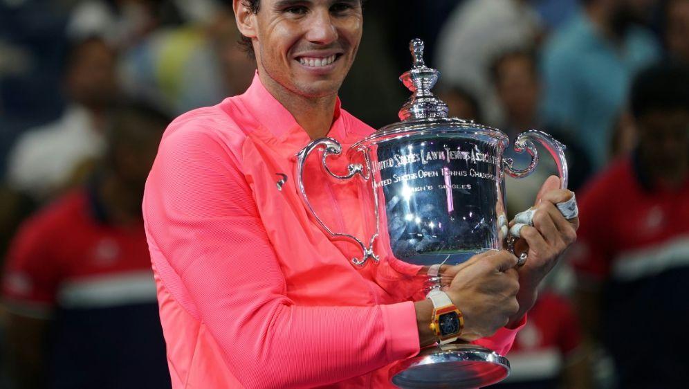 Rafael Nadal hat zum dritten Mal die US Open gewonnen - Bildquelle: AFPAFPDON EMMERT
