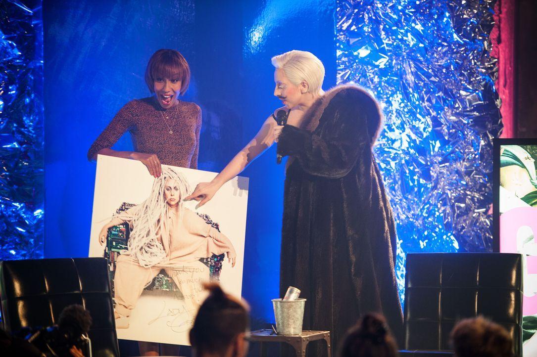 Lady Gaga mit ARTPOP in Berlin - Bildquelle: Julia Schoierer