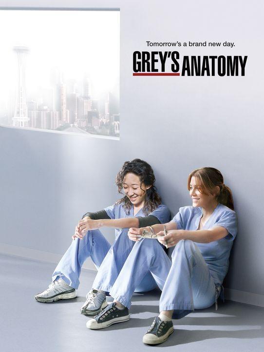 (8. Staffel) - Grey's Anatomy - Die jungen Ärzte: Cristina (Sandra Oh, l.) und Meredith (Ellen Pompeo, r.) ... - Bildquelle: ABC Studios