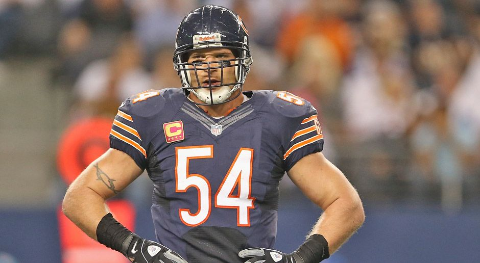 Brian Urlacher - Bildquelle: 2012 Getty Images
