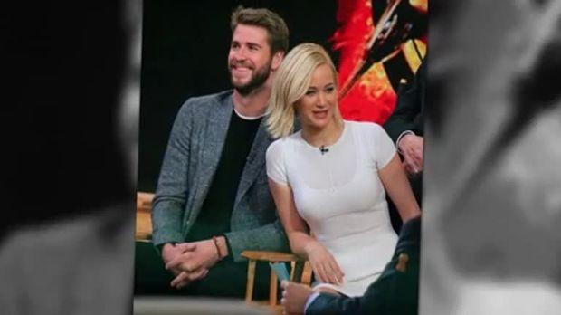 Stars - Jennifer Lawrence und Liam Hemsworth: Das lief wirklich hinter den Kulissen
