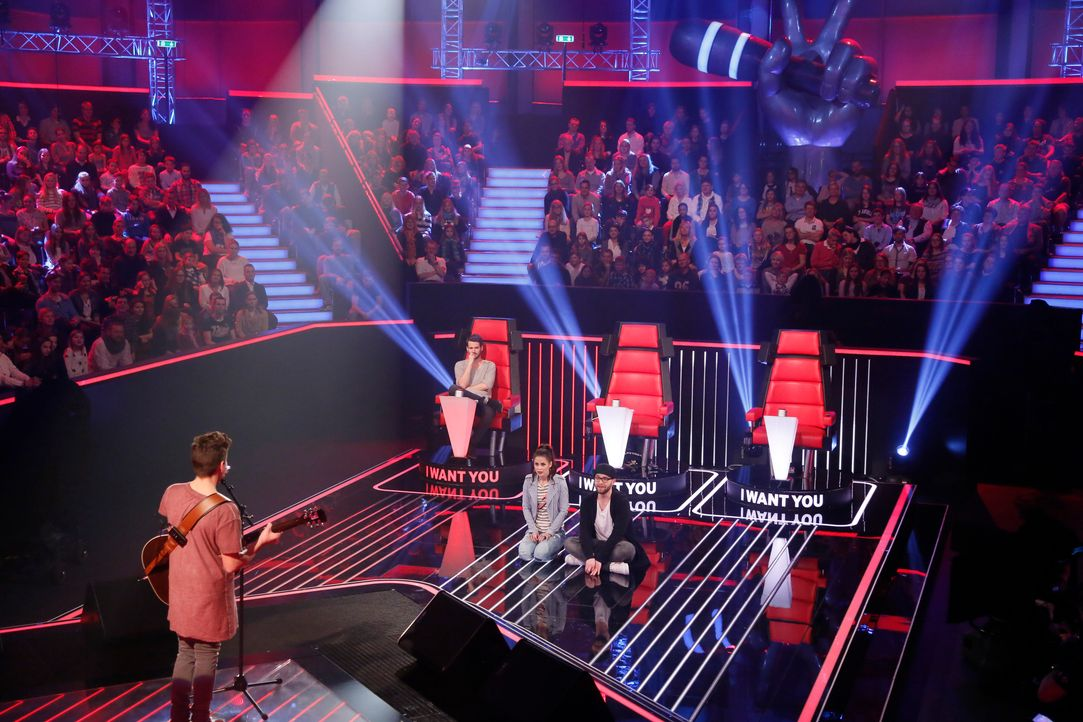 The-Voice-Kids-s03e01-danach-Noah-Levi-04 - Bildquelle: SAT.1/ Richard Hübner