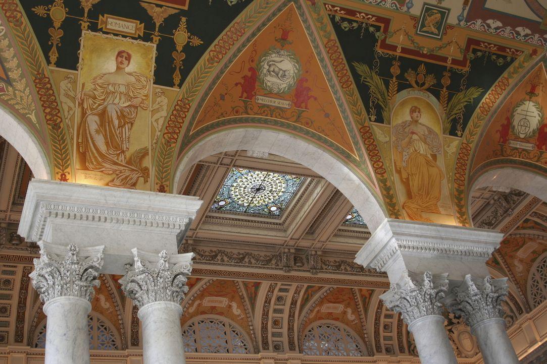 Die Kongressbibliothek in Washington D.C. ist nicht nur ein beeindruckendes Gebäude, man findet dort auch unzählige Bücher sowie die World Digital L... - Bildquelle: Angelika Krikava Getty Images/iStockphoto