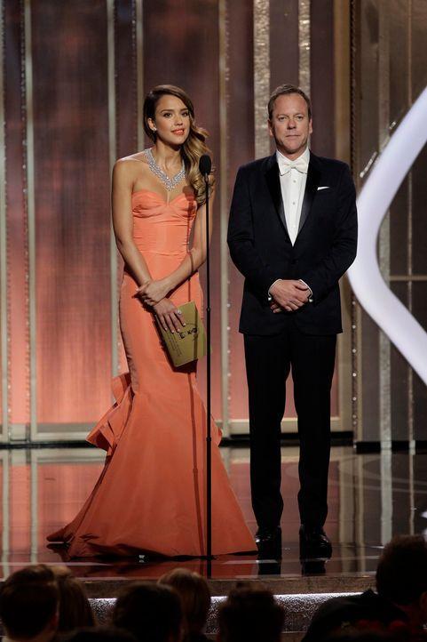 Jessica Alba und Kiefer Sutherland - Bildquelle: +++(c) dpa - Bildfunk+++ Verwendung nur in Deutschland