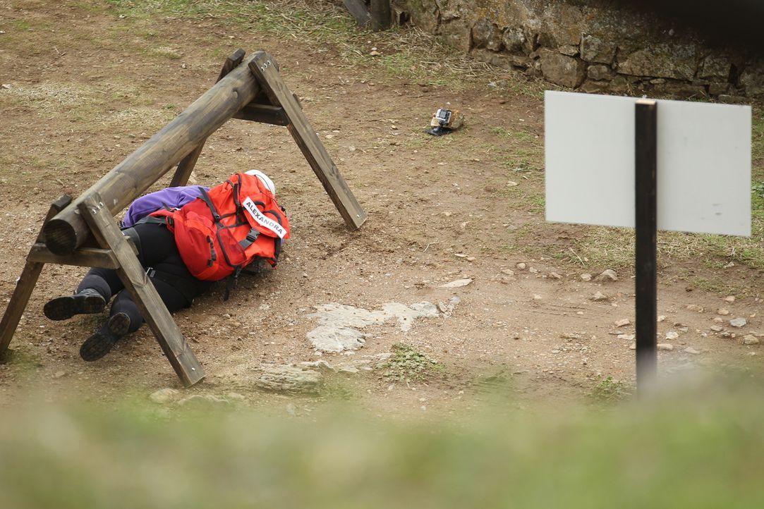Die letzte Woche im Camp und alle Kandidaten kämpfen um einen Platz im Halbfinale. Bringt eine extrem anspruchsvolle Challenge die Entscheidung? - Bildquelle: Enrique Cano SAT.1