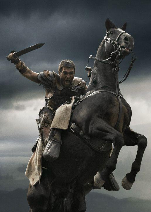 Auf in den Kampf! Spartacus (Liam McIntyre) fürchtet weder den Tod noch seine Gegner - bis Marcus Crassus kommt ... - Bildquelle: 2013 Starz Entertainment, LLC.  All Rights Reserved