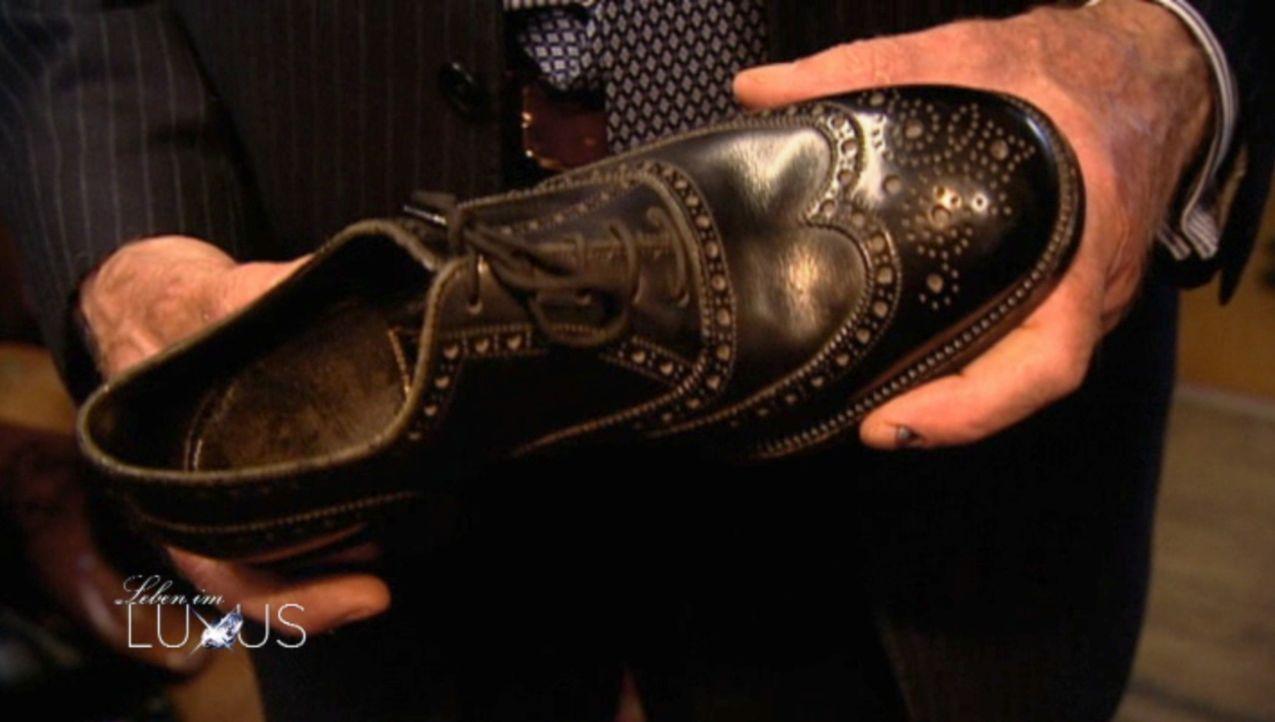 Hoch im Kurs bei den Superreichen: Die Schuhe von Schuhmacher John Lobb ... - Bildquelle: Sat.1 Gold