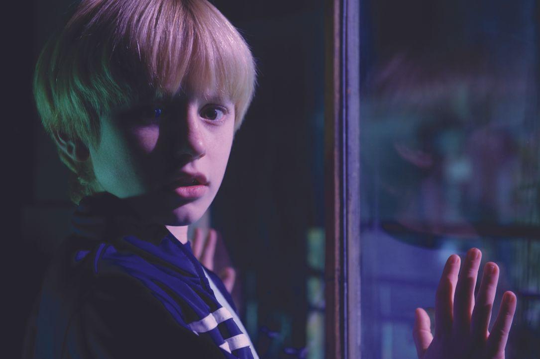 Wünscht sich schon bald, die Tür zu diesem unheilbringenden Loch nie geöffnet zu haben: Lucas (Nathan Gamble) ... - Bildquelle: 2009 Ed Araquel/Bold FIlms