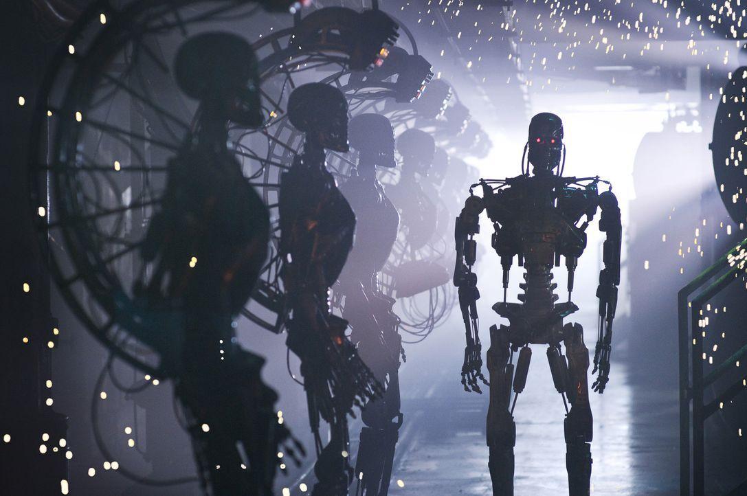 2018: Das Computersystem Skynet und die Maschinen haben die Herrschaft über die Erde übernommen. Ein Großteil der Menschheit wurde bereits ausgel... - Bildquelle: 2009 T Asset Acquisition Company, LLC. All Rights Reserved.