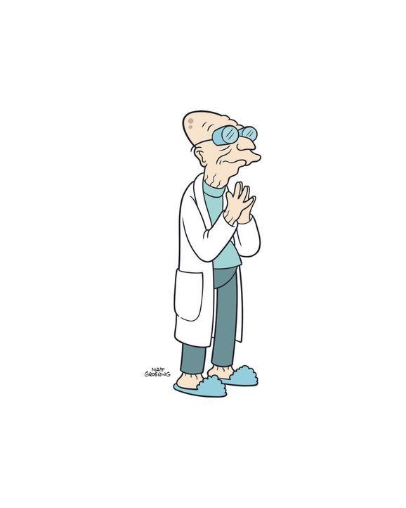 (7. Staffel) - Der 160-jährige Professor Farnsworth ist der Gründer und Chef von Planet Expres ... - Bildquelle: 2003 Twentieth Century Fox Film Corporation. All rights reserved.