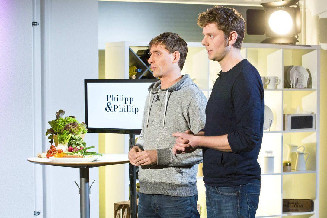 Werden Philipp und Philip es schaffen, die Investoren Carsten Gerlach und Torsten Petersen von sich zu überzeugen? - Bildquelle: Richard Hübner kabel eins