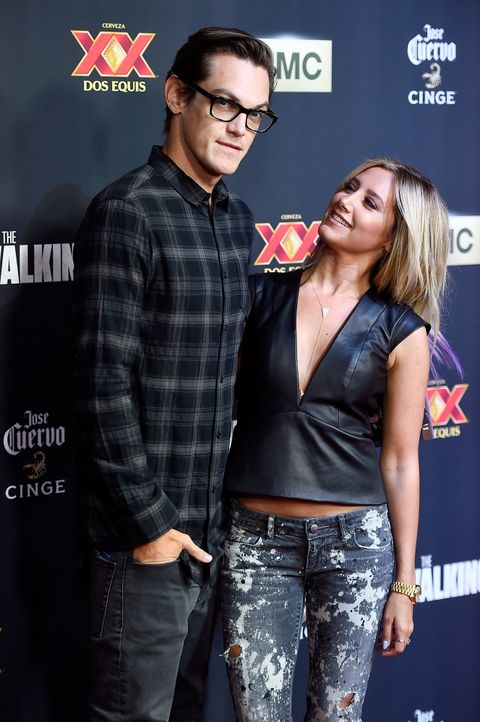 Ashley-Tisdale-Christopher-French-141002-getty-AFP - Bildquelle: getty-AFP