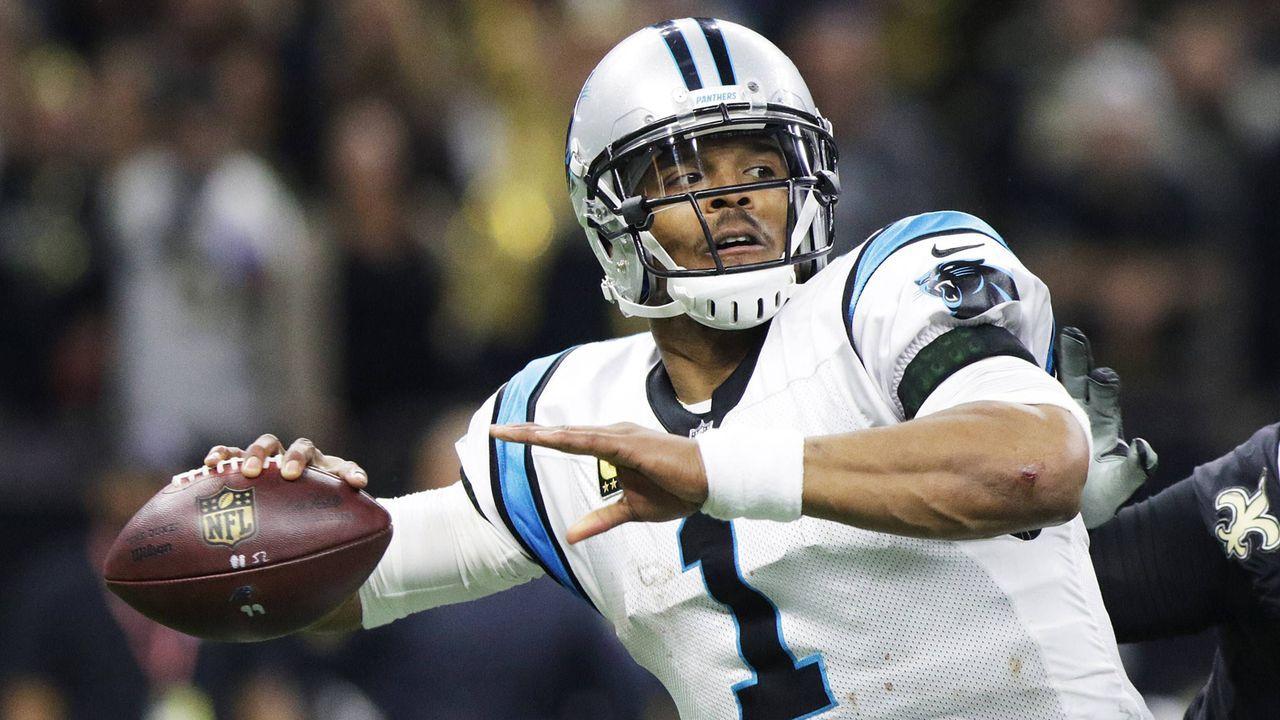 Platz 8: Cam Newton (Carolina Panthers) - Bildquelle: Imago
